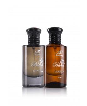 Unisex Vanilla and Crystal Blend Eau de Perfume Set
